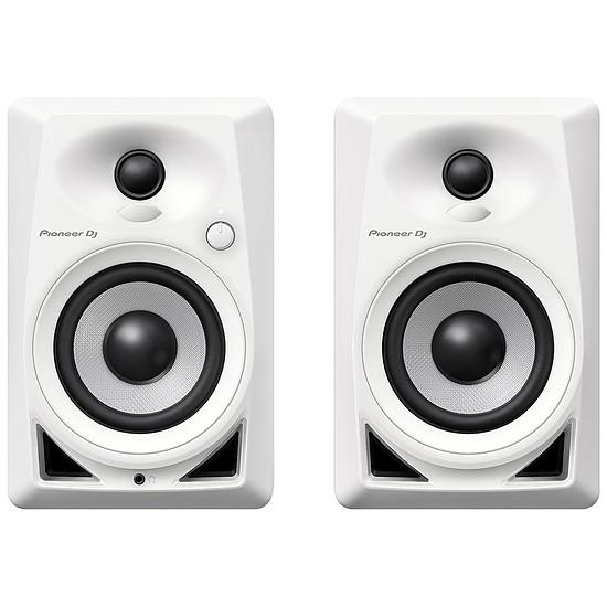 Enceintes HiFi / Home-Cinéma Pioneer DJ DM-40 (la paire) - Blanc