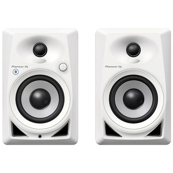 Enceintes HiFi / Home-Cinéma Pioneer DJ DM-40BT (la paire) - Blanc