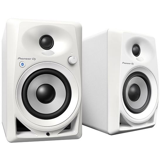 Enceintes HiFi / Home-Cinéma Pioneer DJ DM-40BT (la paire) - Blanc - Autre vue