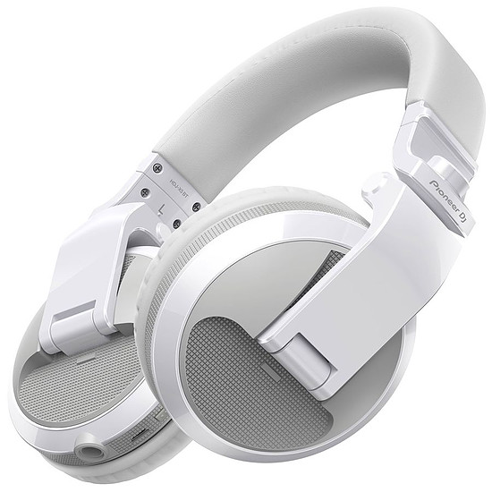 Casque Audio Pioneer DJ HDJ-X5BT Blanc - Casque sans fil