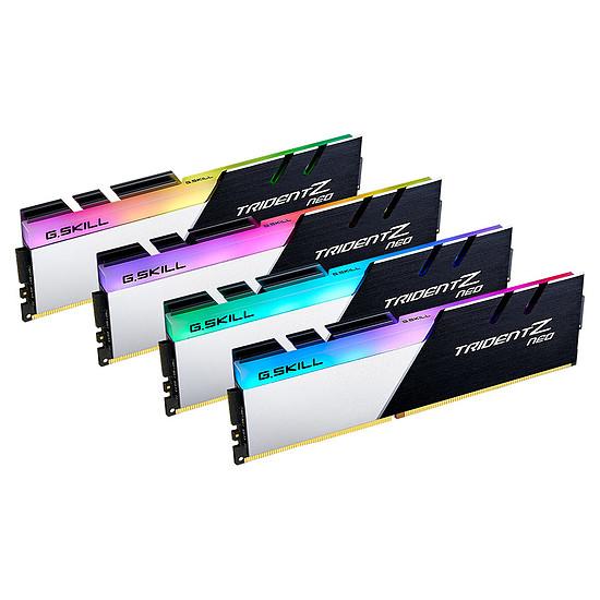 Mémoire G.Skill Trident Z Neo DDR4 4 x 32 Go 3200 MHz CAS 16 Ryzen Edition