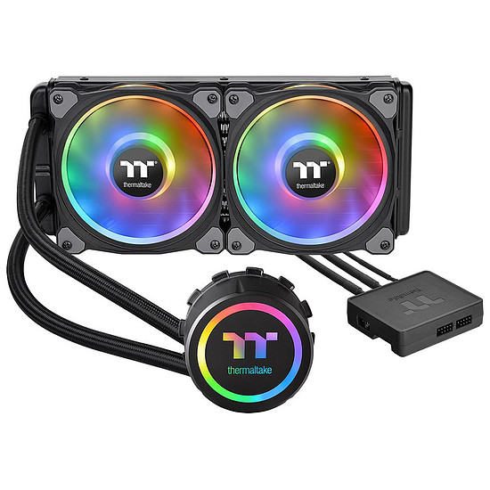 Refroidissement processeur Thermaltake Floe Riing RGB 280 TT Premium Edition