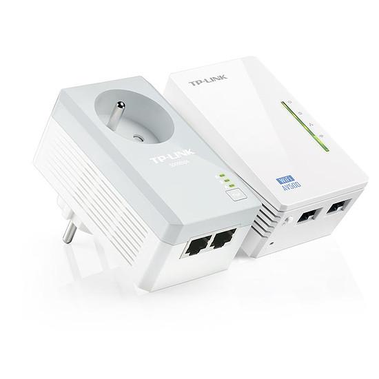 CPL TP-Link TL-WPA4225KIT - Pack 2 CPL500 / Wifi N300 -