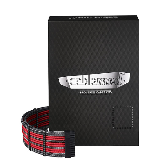 Alimentation CableMod PRO ModMesh RT-Series - Carbone