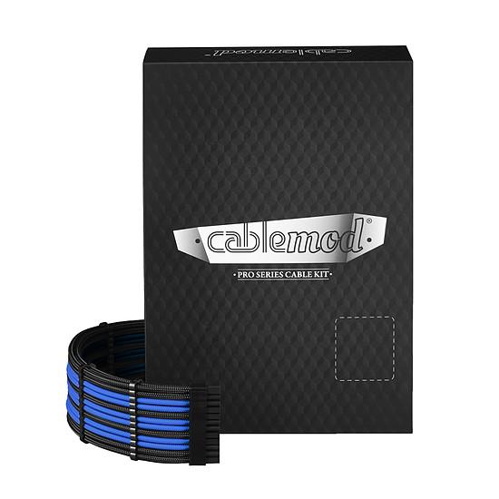 Alimentation CableMod PRO ModMesh RT-Series - Noir / Bleu