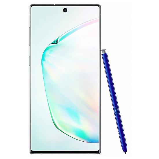 Smartphone et téléphone mobile Samsung Galaxy Note 10 (argent stellaire) - 8 Go - 256 Go