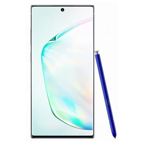 Smartphone et téléphone mobile Samsung Galaxy Note 10+ (argent stellaire) - 12 Go - 256 Go