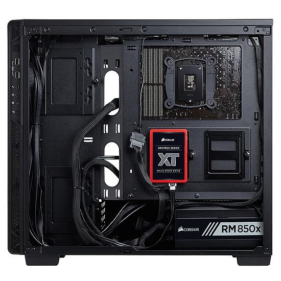 Boîtier PC Corsair Carbide 270R - Noir + CX550 - 550W - Autre vue