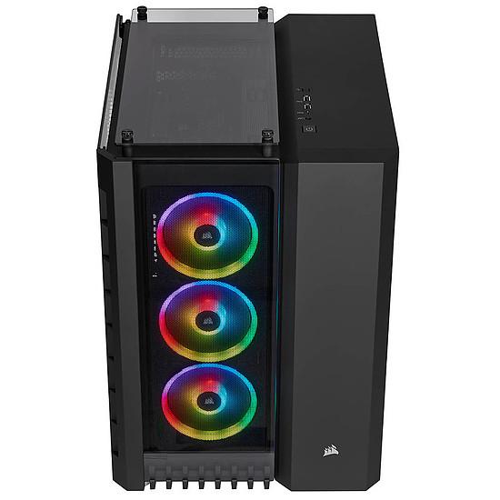 Boîtier PC Corsair Crystal Series 680X RGB - Black + RM850x v2 - Autre vue