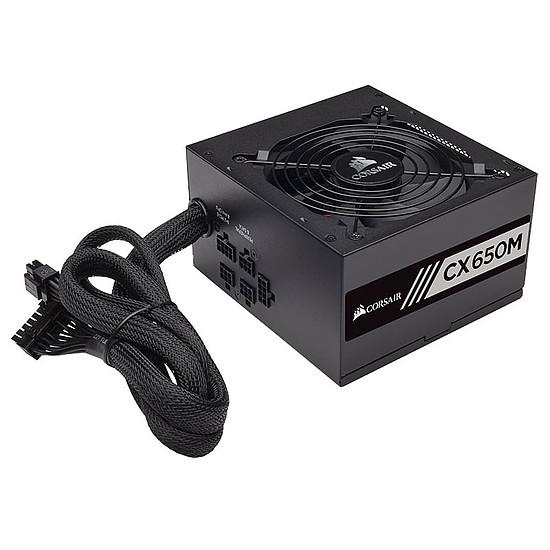 Boîtier PC Corsair Carbide 175R - Black + CX650M - 650W - Autre vue