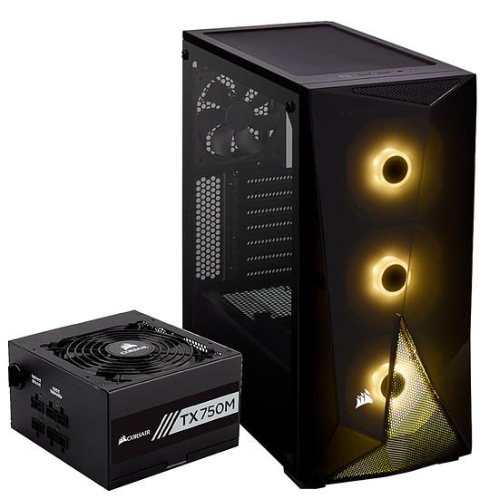 Boîtier PC Corsair SPEC-Delta RGB TG -Black + TX750M