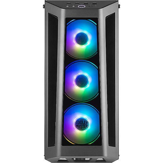 Boîtier PC Cooler Master Masterbox MB530 RGB - Noir + MWE Gold 750 FM - Autre vue