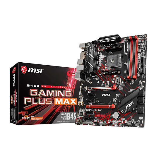 Carte mère MSI B450 GAMING PLUS MAX
