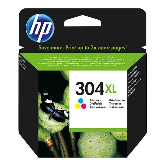 Cartouche imprimante HP 304 XL 3 couleurs - N9K07AE