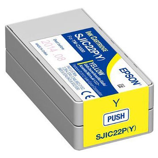 Cartouche imprimante Epson SJIC22P(Y)