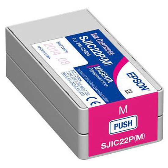 Cartouche imprimante Epson SJIC22P(M)