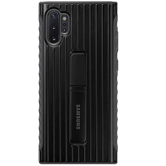 Coque et housse Samsung Coque Renforcée (noir) - Samsung Galaxy Note 10+