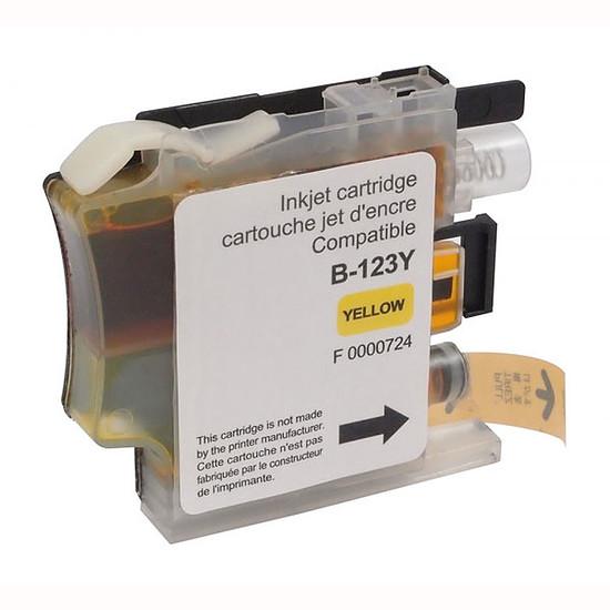 Cartouche imprimante Cartouche compatible LC121/LC123/LC127 (Jaune)