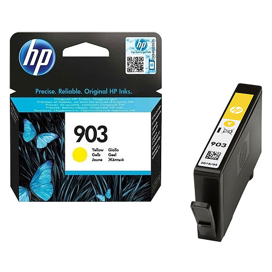 Cartouche imprimante HP 903 Inkjet Cartridge T6L99AE - Jaune