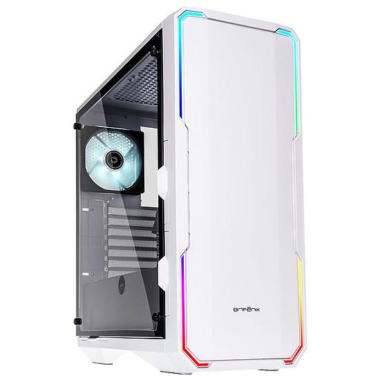 Boîtier PC BitFenix Enso RGB - Blanc