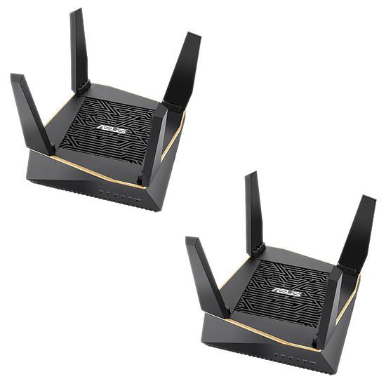 Routeur et modem Asus RT-AX92U - Pack de 2