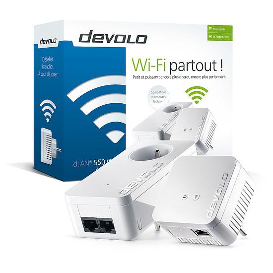 CPL Devolo dLAN 550 WiFi CPL - Starter Kit (9632)