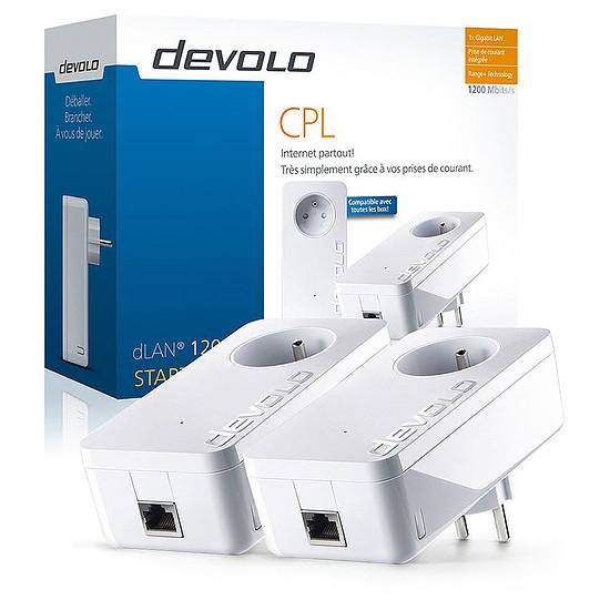 CPL Devolo dLAN 1200+ CPL - Starter Kit (9377)