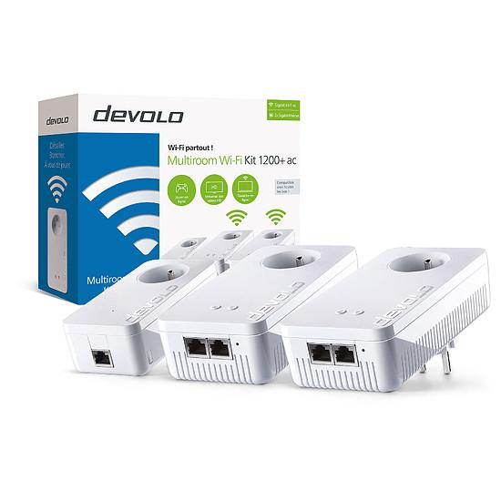 CPL Devolo dLAN 1200+ WiFi ac - Multiroom Kit (8311)