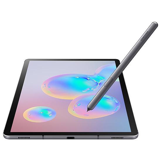 Tablette Samsung Galaxy Tab S6 SM-T865 (Gris) - 4G - 256 Go - 8 Go - Autre vue