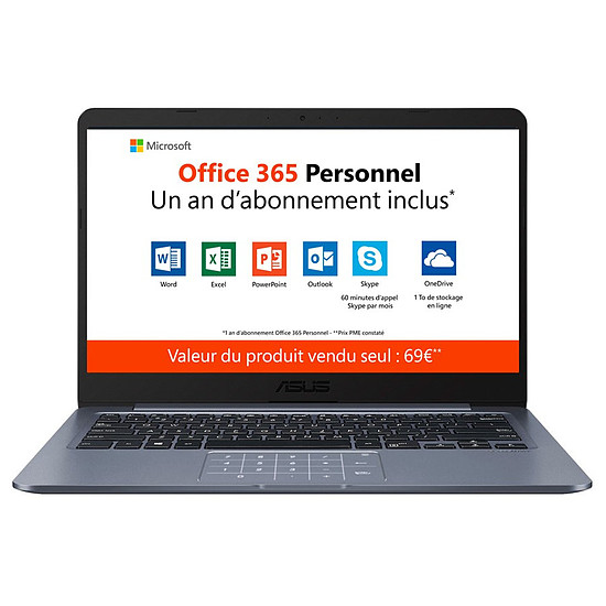 PC portable ASUS VivoBook E406MA-BV301TS