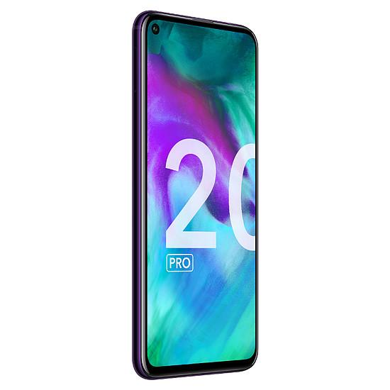 Smartphone et téléphone mobile Honor 20 Pro Phantom Black - 256 Go - 8 Go - Autre vue