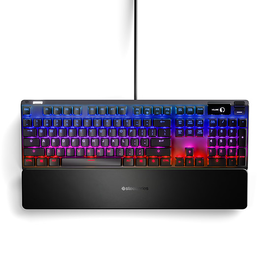 Clavier PC SteelSeries Apex Pro - SteelSeries OmniPoint Red