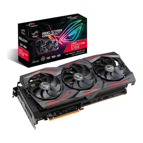 Carte graphique Asus Radeon RX 5700 ROG STRIX OC