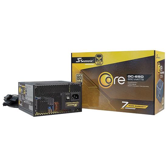 Alimentation PC Seasonic Core GC-650 - Autre vue