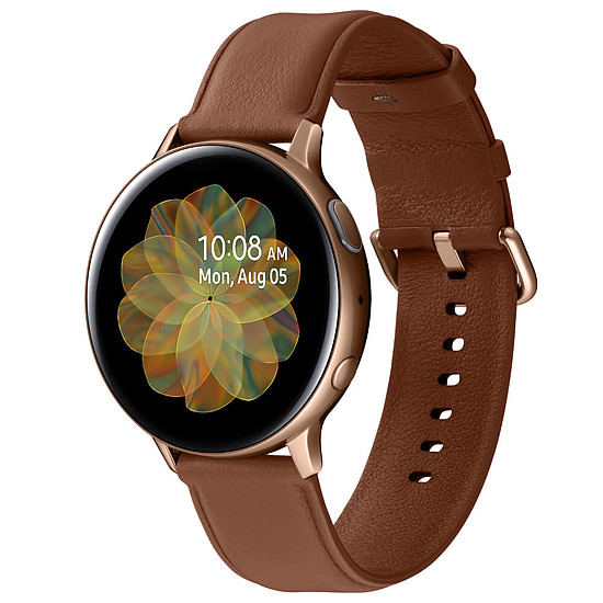 Montre connectée Samsung Galaxy Watch Active 2 (Or) - GPS - 44 mm