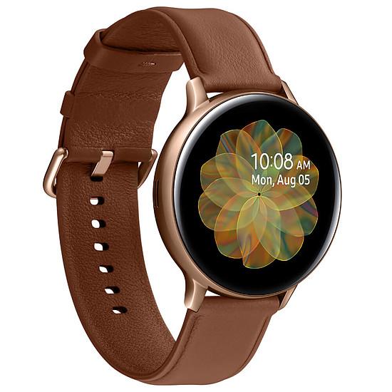 Montre connectée Samsung Galaxy Watch Active 2 (Or) - GPS - 44 mm - Autre vue