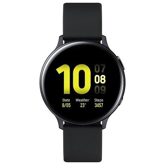 Montre connectée Samsung Galaxy Watch Active 2 (Noir Carbone) - GPS - 44 mm - Autre vue