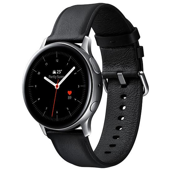 Montre connectée Samsung Galaxy Watch Active 2 (Argent Glacier) - GPS - 40 mm