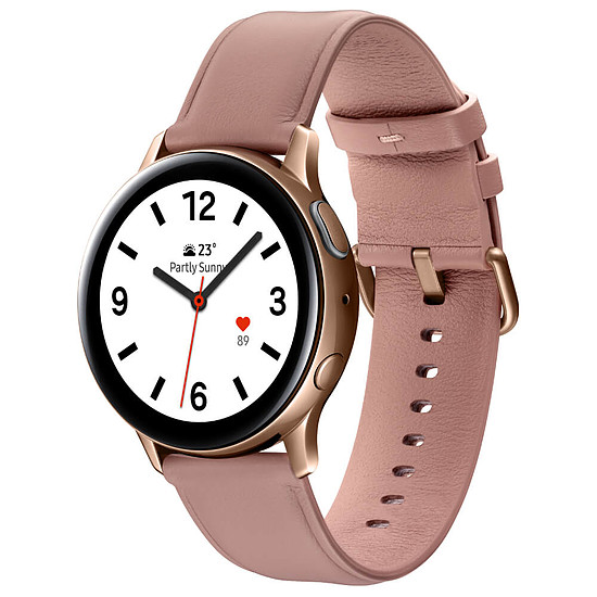 Montre connectée Samsung Galaxy Watch Active 2 (Rose Lumière) - GPS - 40 mm
