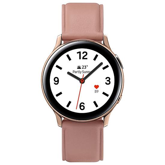 Montre connectée Samsung Galaxy Watch Active 2 (Rose Lumière) - GPS - 40 mm - Autre vue