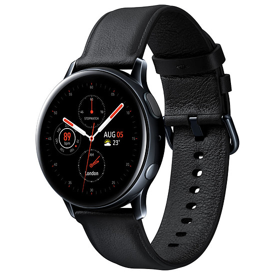 Montre connectée Samsung Galaxy Watch 2 (Noir Diamant) - GPS - 40 mm