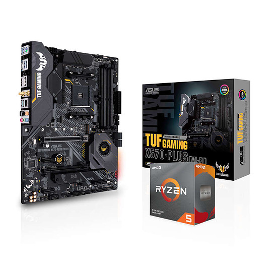 Kit upgrade PC AMD Ryzen 5 3600 + Asus TUF GAMING X570-PLUS (WI-FI)