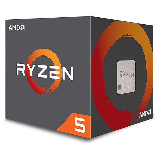 Processeur AMD Ryzen 5 1400 Wraith Stealth Edition (3,2 GHz)