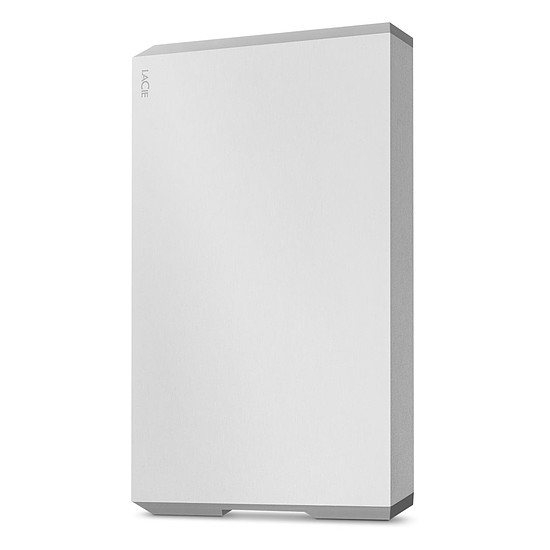Disque dur externe LaCie Mobile Drive - 1 To (Moon Silver)