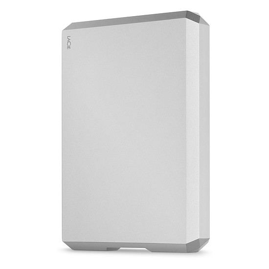 Disque dur externe LaCie Mobile Drive Moon Silver 4 To