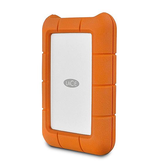 Disque dur externe LaCie Rugged Mini - 1 To (Silver / Orange)