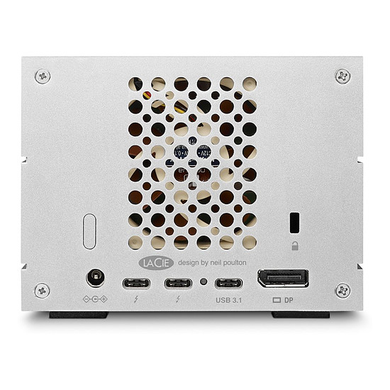 Disque dur externe LaCie 2big Dock Thunderbolt 3 20 To - Autre vue