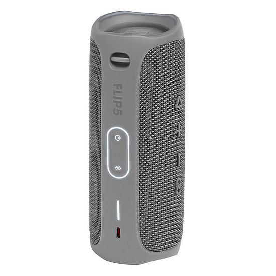 Enceinte sans fil JBL Flip 5 Gris - Enceinte portable - Autre vue
