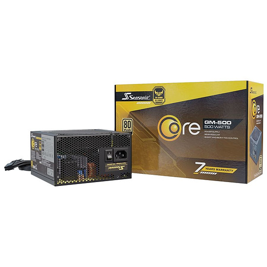 Alimentation PC Seasonic Core GM-500 - Autre vue
