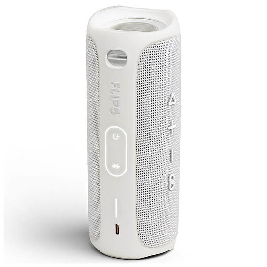 Enceinte sans fil JBL Flip 5 Blanc - Enceinte portable - Autre vue